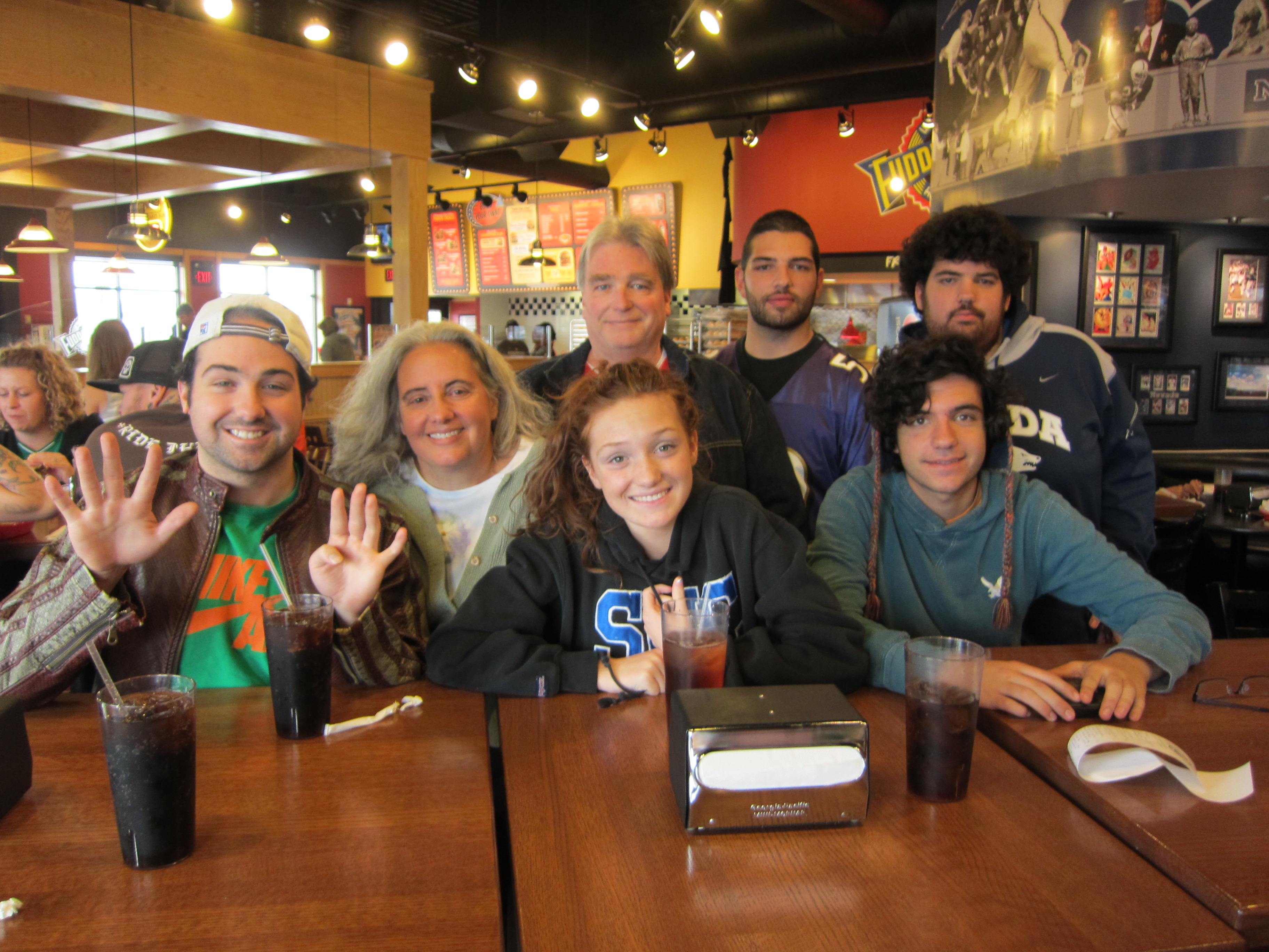 Dale Rogers' 54th Birthday at Fuddruckers in Reno
