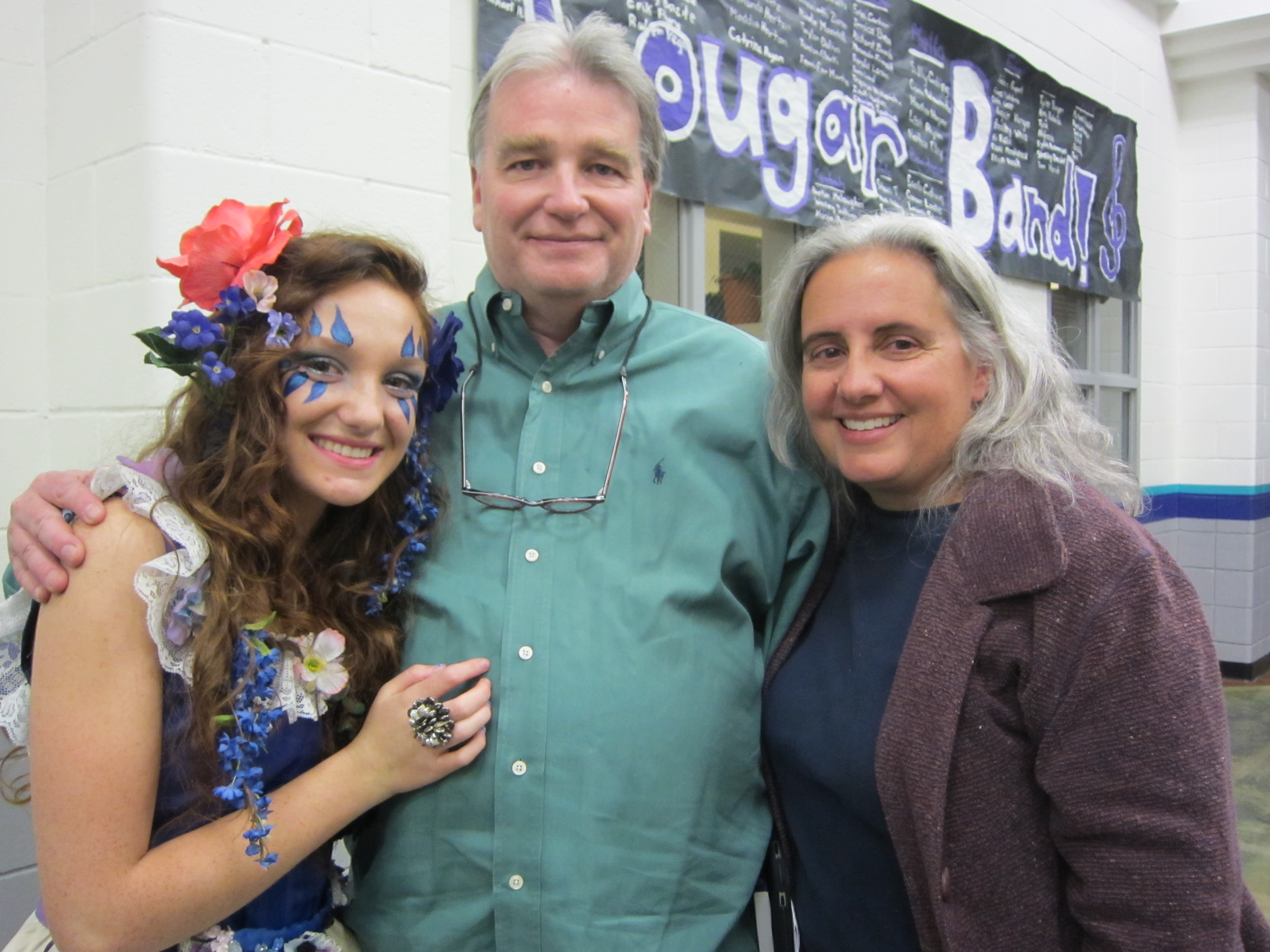 Jaesa, Deana and Dale at A Midsummer Nights' Dream at Spanish Springs High School