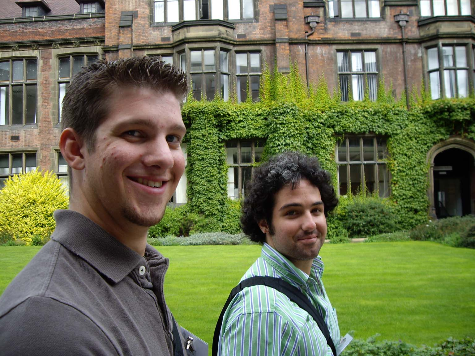 Tad and Zac at University of Newcastle
